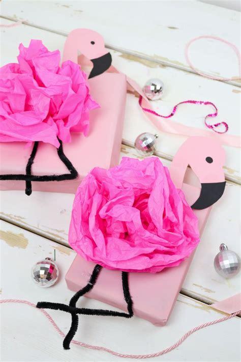 Geschenkverpackung Basteln Und Geschenke Kreativ Verpacken by Diy Flamingo Geschenkverpackung Basteln 3 Kreative