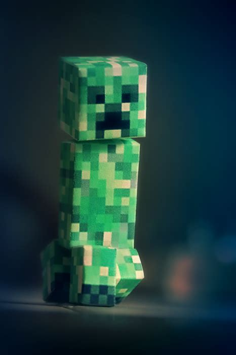 papercraft minecraft creeper image mod db