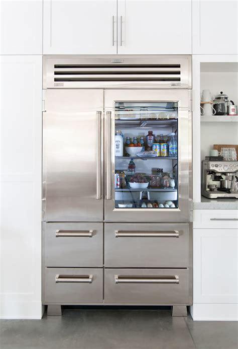 glass door fridge 10 easy pieces glass door refrigerators remodelista