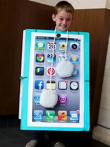 How to Make a DIY Smartphone Halloween Costume for Kids ...