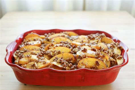 Peaches Cream French Toast Casserole