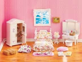 s lavender bedroom set calico critters