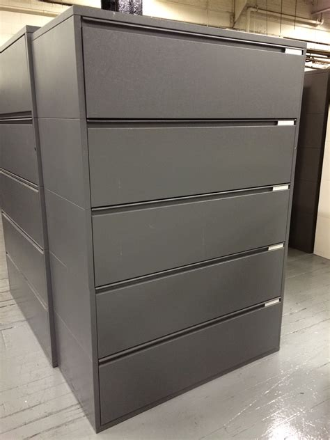 Meridian File Cabinets Manufacturer by 5 Drawer Herman Miller Meridian Lateral File