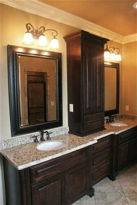 bathroom cabinets and countertops dark cabinets and granite counter tops with cupboard in