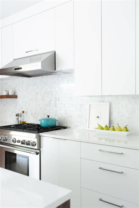 flat front cabinets contemporary kitchen shift interiors