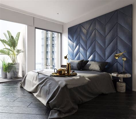 Bedroom Design Blue Grey by Bedroom Inspiration In Shades Of Grey And Blue Master