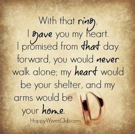 this is the real meaning of a wedding ring true quotes happy wedding quotes