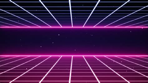 80s Retro Futurism Background Stock Footage Video 28467886