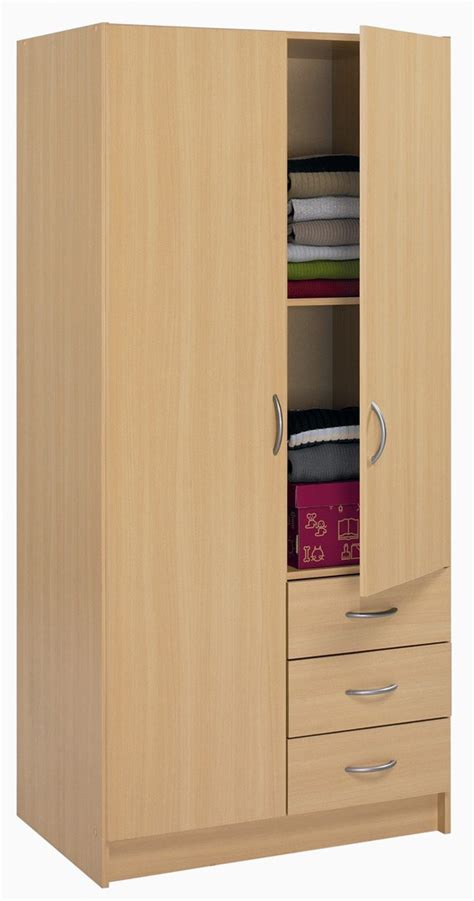bureau pas cher armoire 2 portes et 3 tiroirs sirius armoire enfant