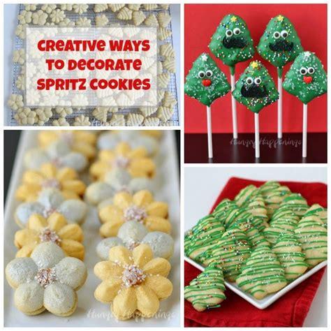 Easy christmas cookies decorating ideas diy. Creative Ways to Decorate Spritz Christmas Cookies ...