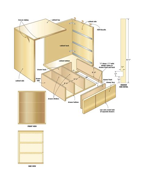 woodwork woodworking storage cabinet plans  plans