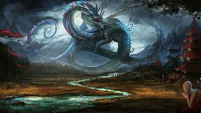 Wallpapers Awesome Backgrounds Desktop Dragon Chinese Dragons