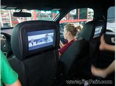 Car Headrest DVD Player Customer Review in a 2010 Toyota