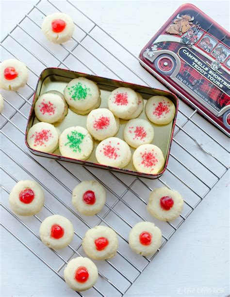 I decided to add a bit of cornstarch into my cookie dough because it helps prevent the cookies from spreading and also gives the cookies a more melt in your mouth flavor. Lemon Scented 'Canada Cornstarch' Shortbread Cookies ~ The Tiffin Box