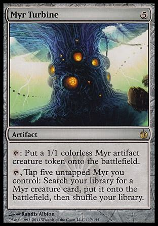 myr commander deck mtg mirrodin besieged set reviewpower 9 pro magic the