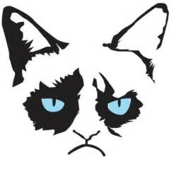cat stencil grumpy cat pumpkin carving stencils