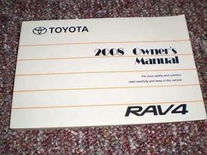 2008 Rav4 Owners Manual