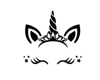 Please, feel free to share these vector images with your friends. Free font_Unicorn SVG Unicorn head Svg Unicorn flower svg ...