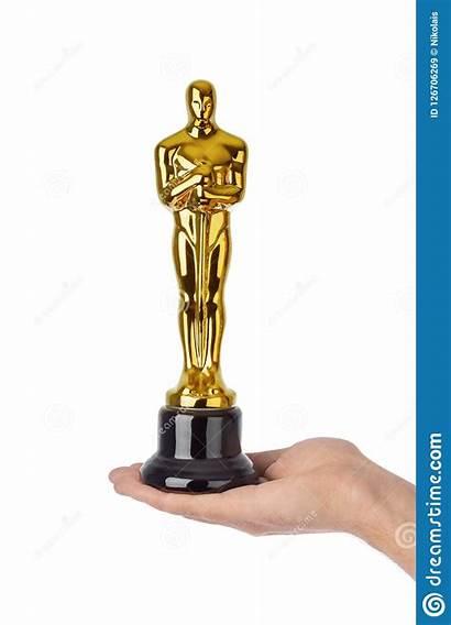 Oscar Ceremony Award Hand Background Isolated Academy