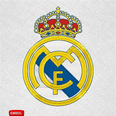 real madrid stickmuster stickdateien