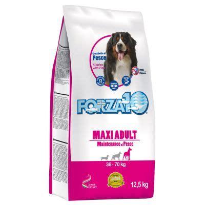 alimenti per cani forza 10 alimento per cani forza10 maxi maintenance al pesce