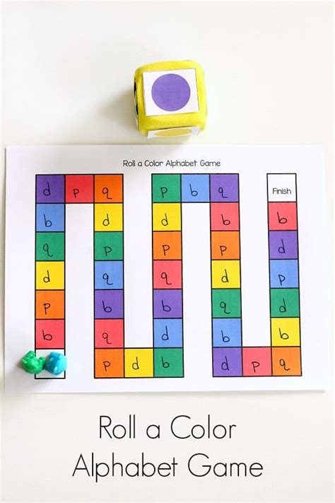 abc preschool games roll a color alphabet 437