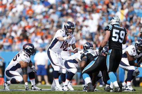 broncos  panthers series history