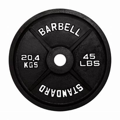 Weight Plates Transparent Clipart 45lb Squat Steel