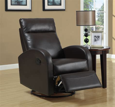 modern recliner chair with leather material traba homes