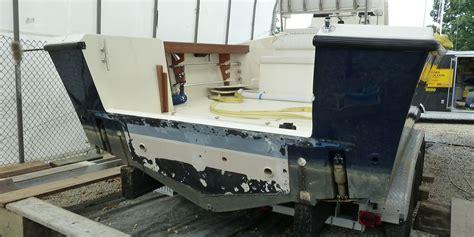 Boat Hull Fiberglass Repair by Fiberglass Repairs On Yachts Annapolis Maryland