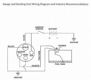 Marine Fuel Sending Unit Wiring Diagram