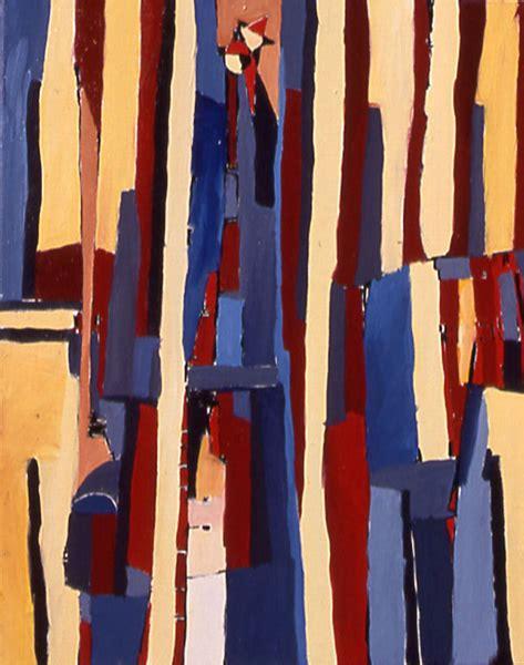 """Pintura abstracta """"El Paso"""" por Iordanoff pintor abstracto"""