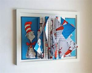 dr seuss book sculpture by y instead of i eclectic With kitchen cabinets lowes with dr seuss wall art quotes