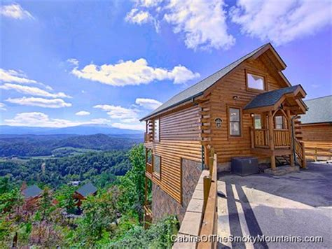 cabins of the smoky mountains pigeon forge cabin mountaintop delight 1 bedroom