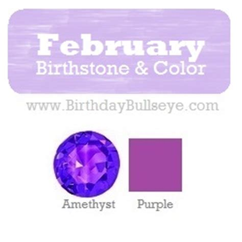 february colors what is the february birthstone the of soberness