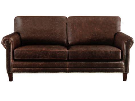 canape fauteuil canapés et fauteuils en cuir vieilli chocolat