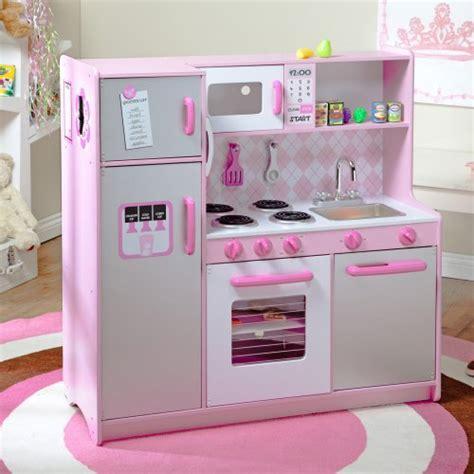 kidkraft argyle play kitchen with 60 pc food set