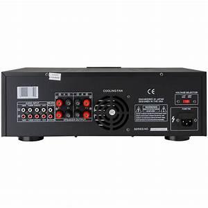 Pyle Pt3300 3000 Watt Power Amplifier