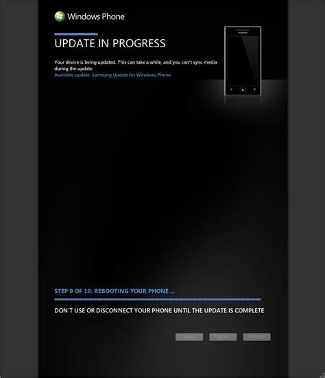 how to update samsung phone windows phone update for samsung omnia 7 187 boydo