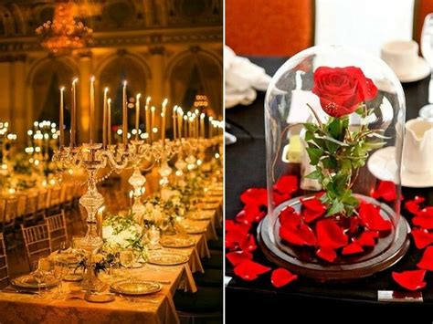 25 Enchanting Wedding Ideas Inspired By Beauty And The