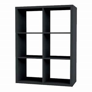 Etagere 6 Cases : etag re modulable 6 cases coloris gris mixxit castorama ~ Teatrodelosmanantiales.com Idées de Décoration