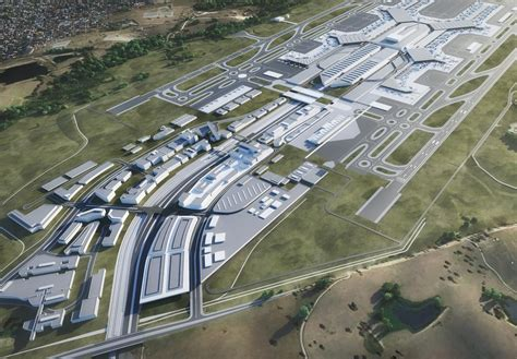 western sydney airport appoints architect for landside business park passenger terminal today