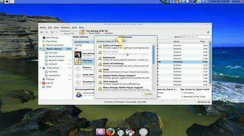 banshee media player ubuntu 9 04 youtube