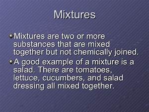 Example Of Heterogeneous Mixture We Separate For A Good Reason