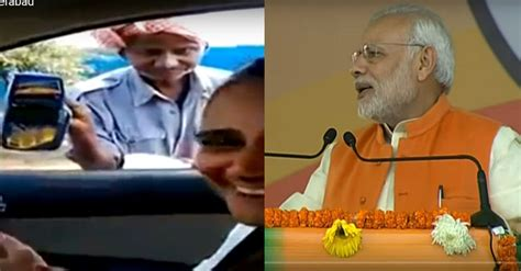 Beggar With A Swipe Machine Whom Pm Modi Cited Was From A