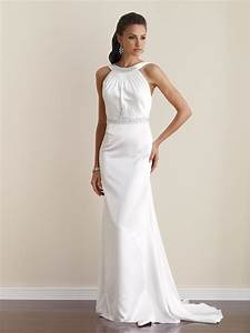 simple elegant wedding dresses dresscab With elegant dresses for wedding