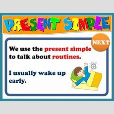 Present Simple Ppt Game + Presentation  English Step By Step  5th And 6th Graders + Bonus Pack