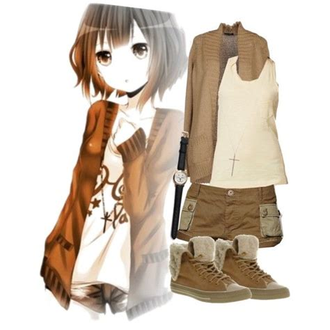 Anime inspired outfit for spring/summer! - Polyvore ...
