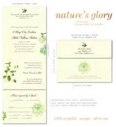 send n sealed wedding invitations on 100 recycled paper With cheap wedding invitations recycled paper