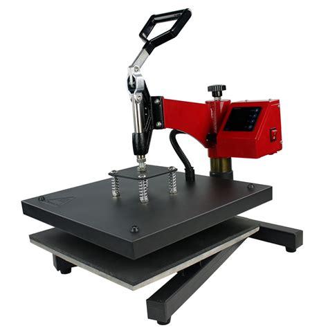 swing machine 15 quot x 15 quot digital swing arm heat press
